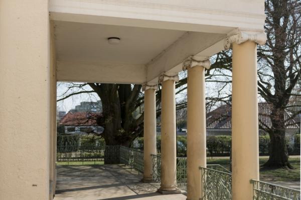 Säulen (seit Umbau 1909) 2019